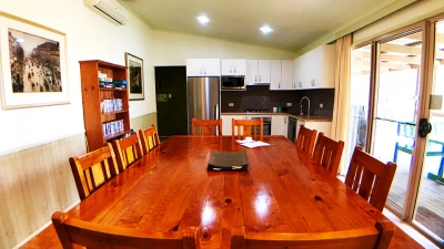 Dining and kitchen area in Jindalee