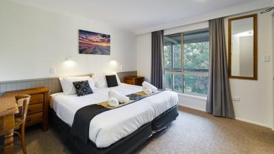 Twin single bedroom at Jindalee
