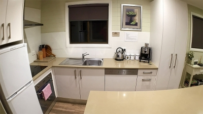 Kitchen with island bench